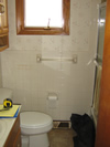 Bathroom prior to remodeling project.